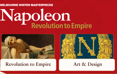 National Gallery of Victoria Does Napoleon!